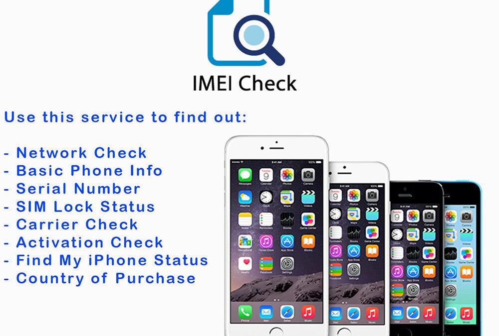 IMEI Carrier Network SIM Unlock Status Check Report