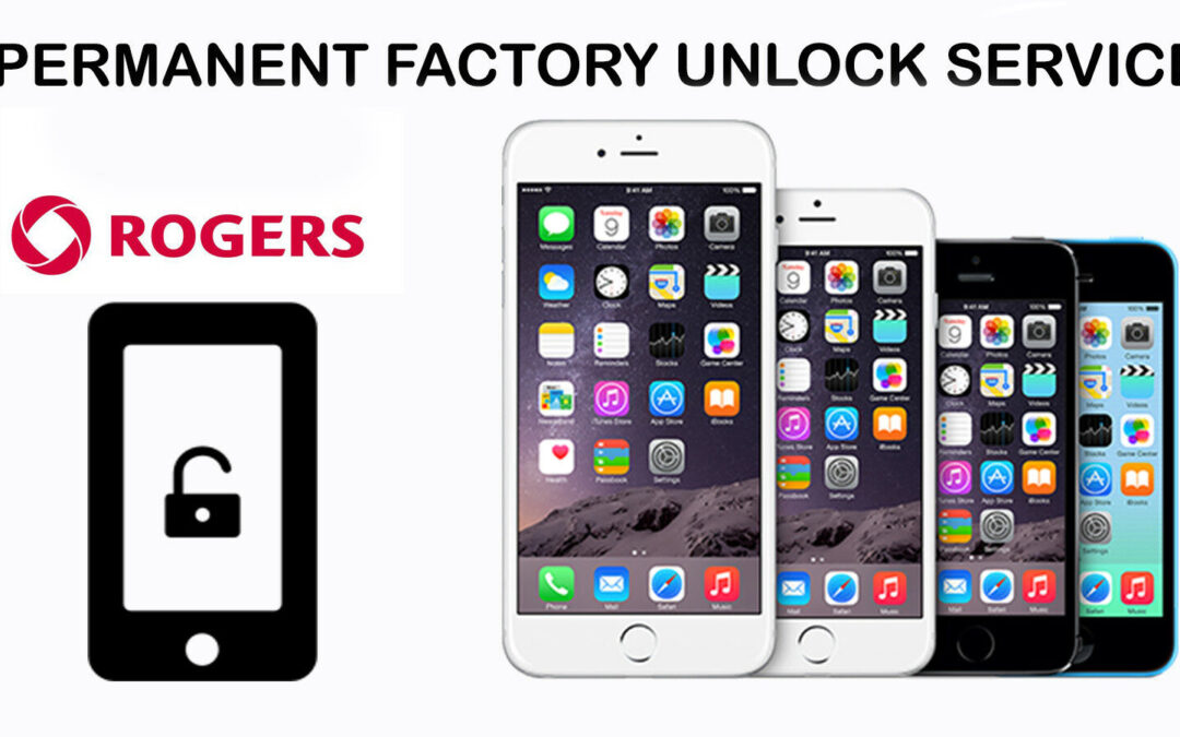 Rogers Unlock Code Service For Apple iPhone (All Models)